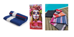 New towels and promotional foutas