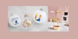 Les décorations de Noël publicitaires