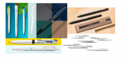 New models of advertising writing instruments