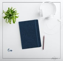 The notebook that can be personalised by Intemporel