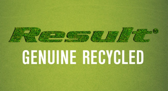 Result présente sa nouvelle collection Genuine Recycled